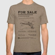 For Sale: X-Wing Starfighter Mens Fitted Tee Tri-Coffee SMALL