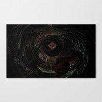 Eye of Chaos Canvas Print