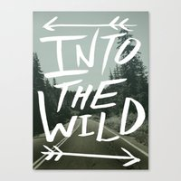 Into The Wild II Canvas Print