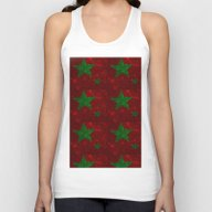 Christmas Red And Green … Unisex Tank Top