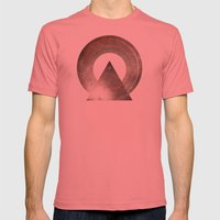 Stereo Induction Mens Fitted Tee Pomegranate SMALL