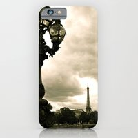 iPhone & iPod Case featuring A Night In Paris by Maddie Weaver