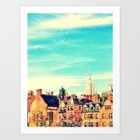 Chelsea, NY Art Print