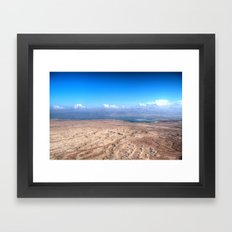 The Dead Sea Series #1 Framed Art Print