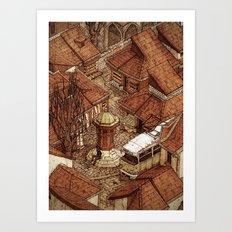 Bascarsija 2/2 Art Print