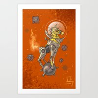 Astro Zodiac Force 07: H… Art Print