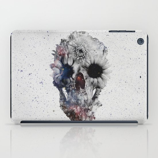 Floral Skull 2 iPad Case