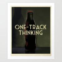 Message in a Bottle - Cassandre Spirit Art Print