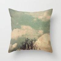 Unkindness Throw Pillow