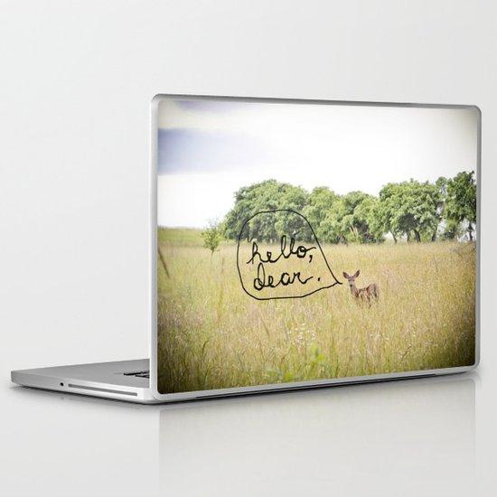 hello, dear Laptop & iPad Skin