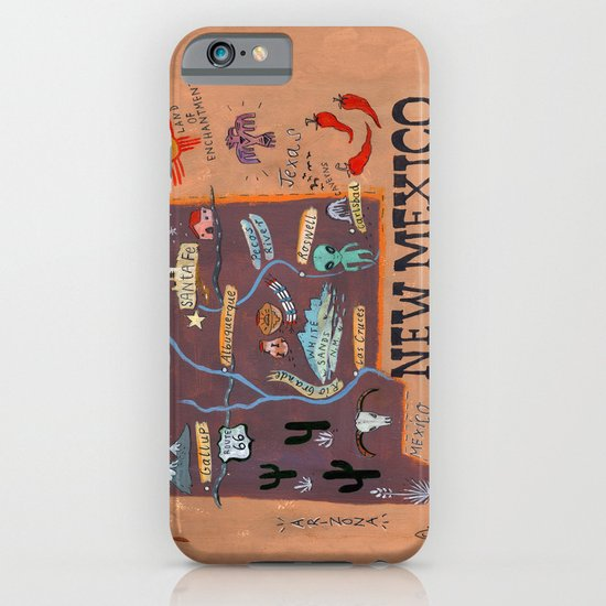 New Mexico iPhone & iPod Case