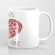 Valentine Pizza Mug