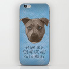 Pit Bull Print iPhone & iPod Skin