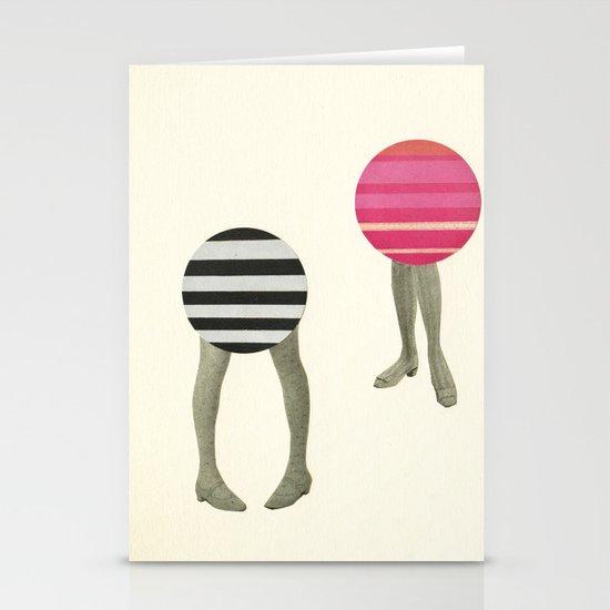 Dancing Feet Stationery Card