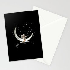 Sailing Cross the Sky Stationery Cards