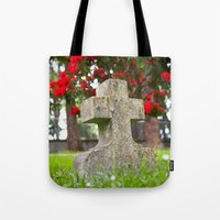 Cemetery Spring Tote Bag