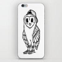 SkateOwl iPhone & iPod Skin