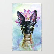 Cat Goddess Canvas Print