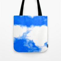 Blue Cloud Tote Bag
