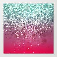 Glitteresques IV:XVI Canvas Print