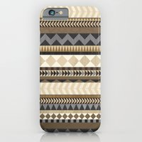 iPhone & iPod Case featuring Dusty Aztec Pattern by Teacuppiranha