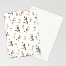 Raining Cats and Dogs Stationery Cards