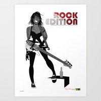 Rock Edition 02 Art Print