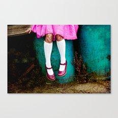 I am so girly Canvas Print
