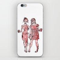 Zombie Bridesmaids iPhone & iPod Skin