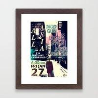 1.27.12 All Asia Framed Art Print