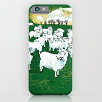 iPhone & iPod Case featuring Hide & Sheep by Primary Hughes