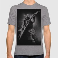 Slayer Mens Fitted Tee Athletic Grey SMALL