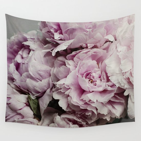 Kitchen Window Uptown Coffee Festival 2016: Pink Peony Wall Tapestry By Pure Nature Photos