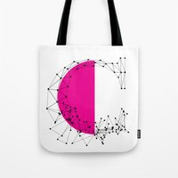 C (abstract geometrical type) Tote Bag