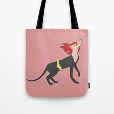 BlackCat Widow Tote Bag