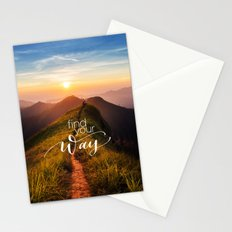 Find your way Stationery Cards