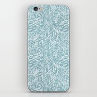 lighting pattern iPhone & iPod Skin