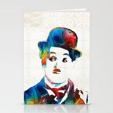 Charlie Chaplin Art - Oh… Stationery Cards
