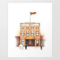895 Broadway Art Print