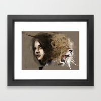 Kingdom Of Beauty Framed Art Print