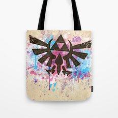 Splash Triforce Emblem Tote Bag