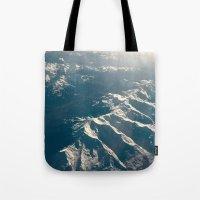 Topographics Tote Bag
