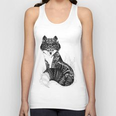 Wildlife Fox Unisex Tank Top
