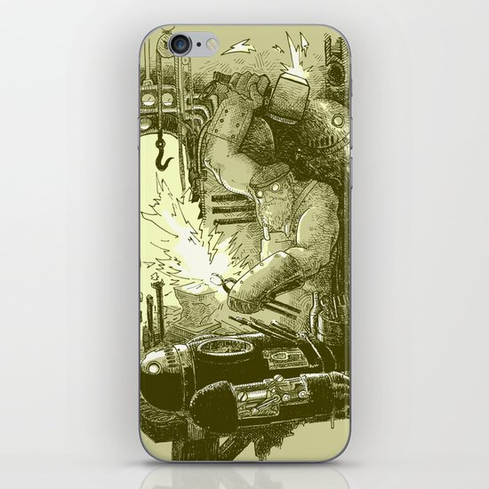 Doombots iPhone & iPod Skin