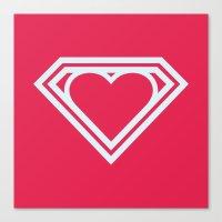 Superlove Canvas Print