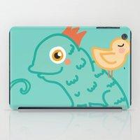 Bird & Chameleon iPad Case