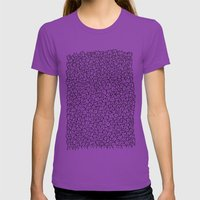 A Lot of Cats Womens Fitted Tee Ultraviolet SMALL
