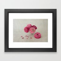 A Cup of Spring Framed Art Print