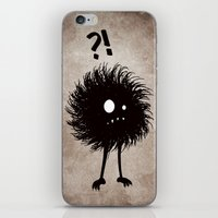 Evil Bug Wondering iPhone & iPod Skin