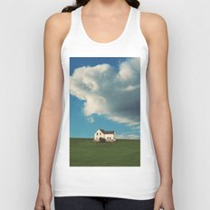 House on the Hill Unisex Tank Top